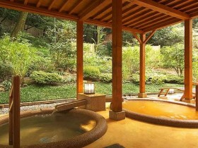 有馬温泉の金泉と銀泉