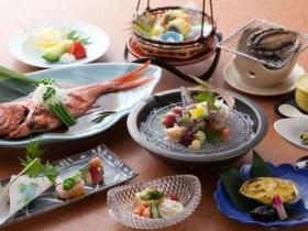 海鮮料理の宿