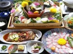 金目鯛料理が食べられる犬と泊まれる宿