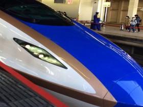北陸新幹線で温泉旅行