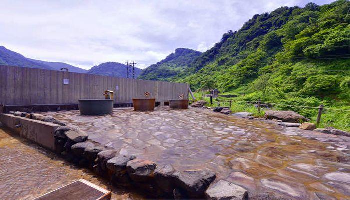 炭酸水素塩泉の宿