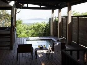 海が見える客室露天風呂