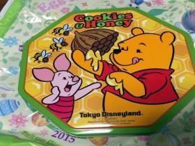 プーさんのクッキー(東京ディズニーランドのお土産)