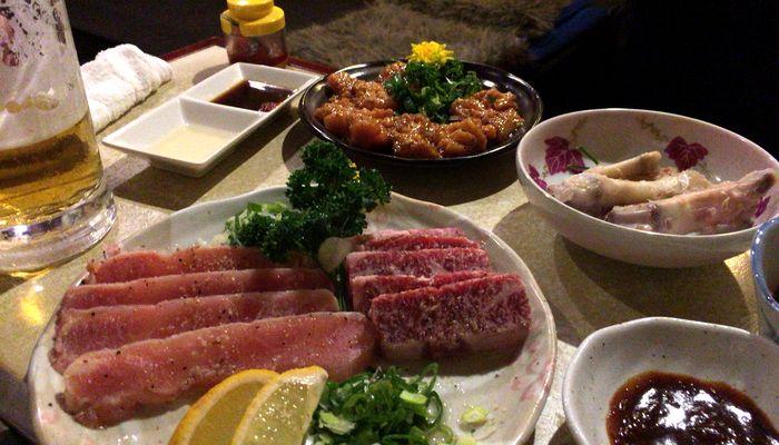 足立区竹ノ塚の焼肉ソウルでホルモンと焼肉を食べてきました。