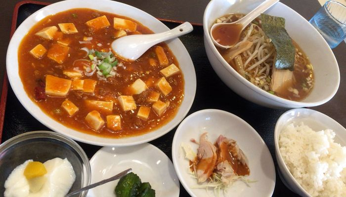 台湾料理のお店・百楽(埼玉県越谷市)のランチ
