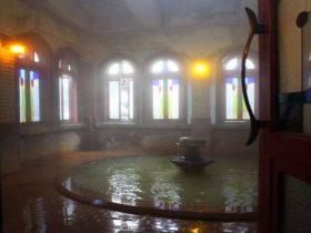 渋温泉・金具屋の浪漫風呂