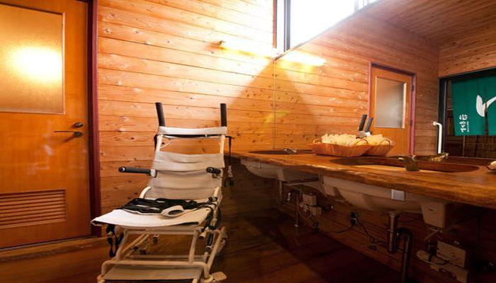 車椅子で入浴できる温泉宿