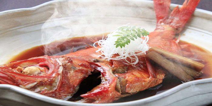 湯宿みかんの木(金眼鯛の煮付け)