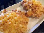 下野市の蕎麦屋はし本のトウモロコシ