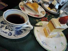 ルドリップコーヒーとケーキ|サザコーヒー本店